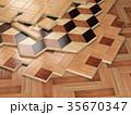 フロア 床 床材のイラスト 35670347