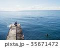 海 人々 人物の写真 35671472