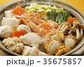 寄せ鍋 鍋料理 和食の写真 35675857