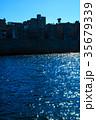 軍艦島と青空 軍艦島クルーズ 35679339
