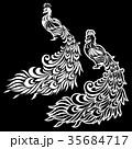 孔雀のイラスト 35684717