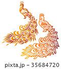 動物 鳥類 鳥のイラスト 35684720