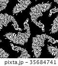 孔雀のパターン 35684741