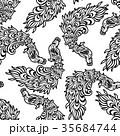 動物 鳥類 鳥のイラスト 35684744