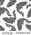 孔雀のパターン 35684746