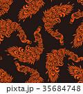 孔雀のパターン 35684748