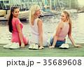 女の子 女子 仲間の写真 35689608