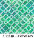 Seamless composition of tropical palm leaves 35696389