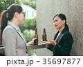 酒 ビール 対話の写真 35697877