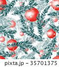 クリスマス モミ シームレスのイラスト 35701375