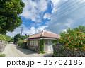 竹富島 観光地 夏の写真 35702186