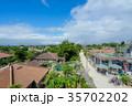竹富島 風景 観光地の写真 35702202