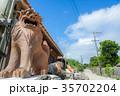竹富島 観光地 夏の写真 35702204