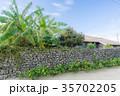 竹富島 観光地 夏の写真 35702205
