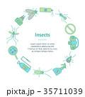 虫 蚊 カのイラスト 35711039