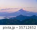 伊豆葛城山から、秋の富士山 35712652