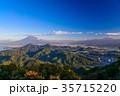 秋の伊豆葛城山から、富士山 35715220