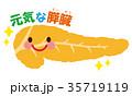 膵臓 医療 キャラクター 35719119