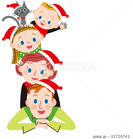 仲良し家族でクリスマス 35720741