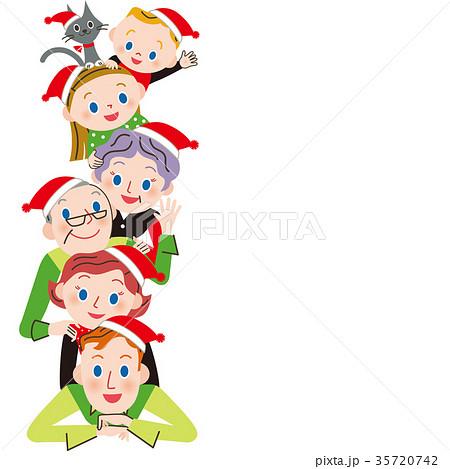 仲良し三世代家族でクリスマス 35720742