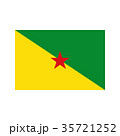 Guiana flag illustration 35721252