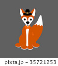 Fox illustration vector 35721253