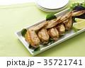 手羽先の甘辛焼き 手羽先焼き 肉料理の写真 35721741