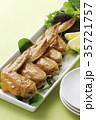 手羽先の甘辛焼き 手羽先焼き 肉料理の写真 35721757