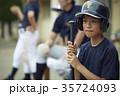 少年野球 バッター ポートレート 35724093