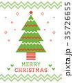 ノルディック柄のクリスマスカード 35726655