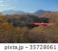 清里高原 東沢橋 風景の写真 35728061