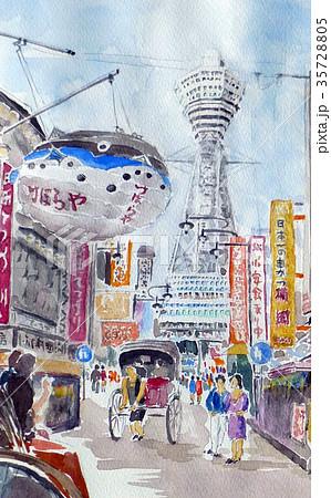 通天閣 大阪観光 新世界 35728805