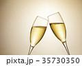シャンパン スパークリングワイン 乾杯の写真 35730350