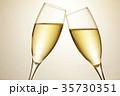 シャンパン スパークリングワイン 乾杯の写真 35730351