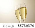 シャンパン スパークリングワイン ワインの写真 35730370