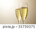 シャンパン スパークリングワイン ワインの写真 35730375