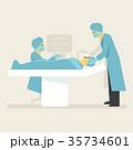 外科 手術 手術中のイラスト 35734601