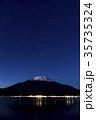富士山 山中湖 星空の写真 35735324