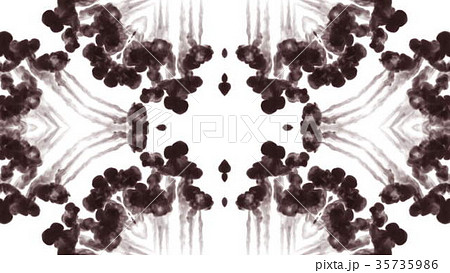 Abstract black and white background of ink or 35735986