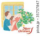 クリスマス xマス xマスのイラスト 35737847