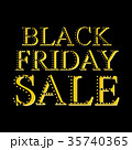 Black friday sale illustration 35740365