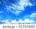 青空と白雲 35743682