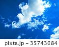 青空と白雲 35743684