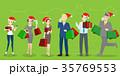 クリスマス 少女 人のイラスト 35769553