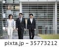グローバル ビジネスマン ビジネスの写真 35773212
