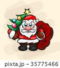 クリスマス イラスト イラストレーションのイラスト 35775466