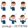 男の子 表情とポーズのセット 35776768