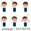 男の子 表情とポーズのセット 35776772