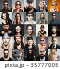 Hipster people fashion beauty Collage 35777005