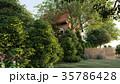 garden of english house 3d rendering 35786428